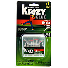 Krazy Glue Clear Original 08 Oz