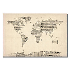Trademark Global Old Sheet Music World