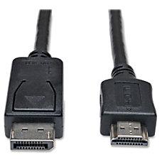 Tripp Lite 3ft DisplayPort to HD