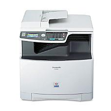 Panasonic Laser Multifunction Printer Color Plain