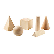 Learning Resources Basic Geometric Solids Wooden
