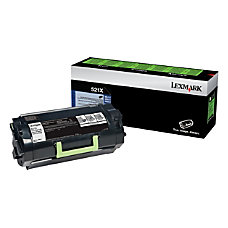 Lexmark 52D1X00 Black Toner Cartridge