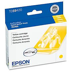 Epson T0594 T059420 UltraChrome K3 Yellow