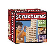 KEVA Structures 200 Plank Set Natural
