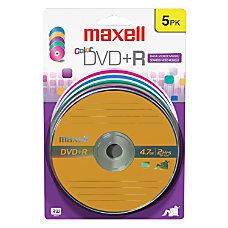 Maxell 16x DVDR Media