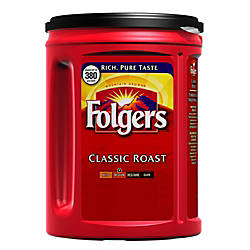 Folgers Classic Roast Coffee 48 Oz