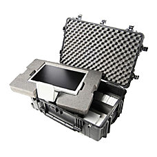 Pelican 1060 Clear Micro Case Black
