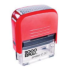 2000 Plus Pre Inked Security Stamp