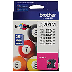 Brother LC201M Magenta Ink Cartridge
