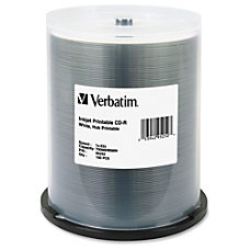 Verbatim CD R 700MB 52X White