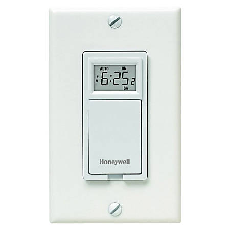 honeywell 7 day programmable timer for lights by office depot officemax. Black Bedroom Furniture Sets. Home Design Ideas