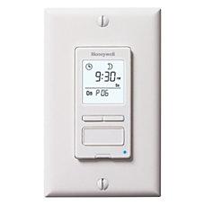 Honeywell RPLS540A1002U ECONOSwitch Programmable Light Switch