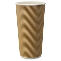 Genuine Joe Ripple Hot Cups 25