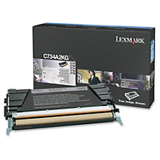 Lexmark C734A2KG Return Program Black Toner