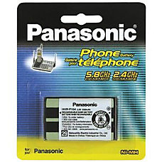 Panasonic Nickel Metal Hydride Cordless Phone