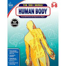 Carson Dellosa Human Body Workbook Grades