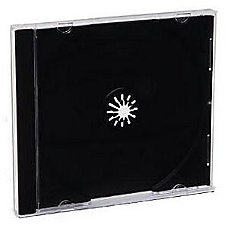 Verbatim CDDVD Black Jewel Cases 200pk