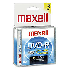 Maxell Mini DVD R Recordable Printable