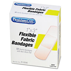 First Aid Only PhysiciansCare Fabric Bandages