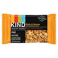 KIND OatsHoney Toasted Coconut Bar Cholesterol