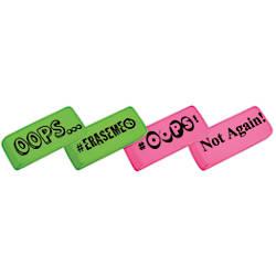 Office Depot Brand Jumbo Eraser GreenPink