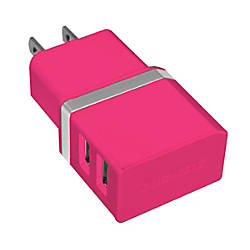 Duracell Dual USB Car Charger Metallic