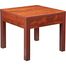 Lorell Occasional Corner Table Square Top