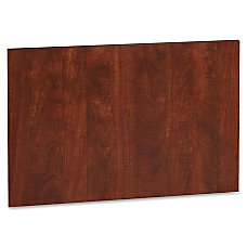 Lorell Accent Series Cherry Laminate Modesty