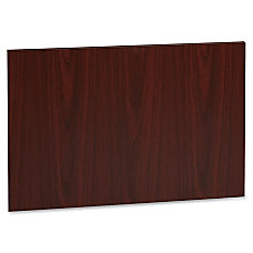 Lorell Accent Series Mahogany Laminate Modesty