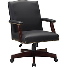 Lorell Traditional Executive Bonded Leather Chair