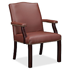 Lorell Bonded Leather Guest Chair Bonded