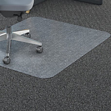 Lorell Rectangular Polycarbonate Chair Mat Carpet