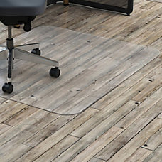 Lorell Rectangular Chairmat without Lip Hard