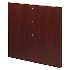 Lorell Modular Mahogany Conference Table Straight