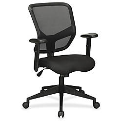 Lorell Executive Mesh Mid Back Chair