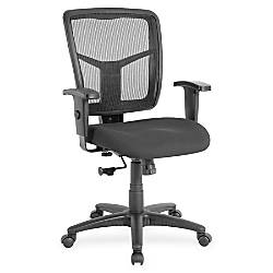 Lorell Managerial Mesh Mid back Chair