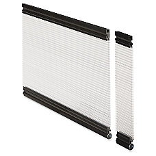 Lorell Desktop Panel System Glazed Panel