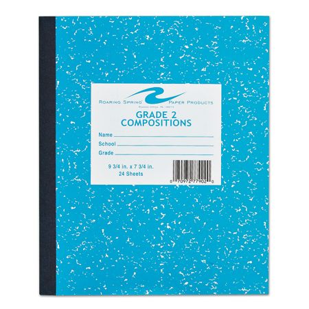 Worksheets Grade 2 Composition roaring spring grade school writing composition book 2 by 2
