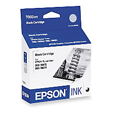 Epson T003 T003011 Black Ink Cartridge
