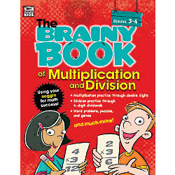 Thinking Kids Brainy Book Of Multiplication