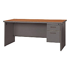 Lorell 67000 Series Single Pedestal Credenza