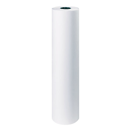 office depot brand white butcher paper roll 40 lb 36 x 1000 by office depot officemax. Black Bedroom Furniture Sets. Home Design Ideas