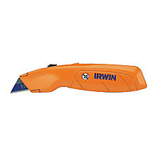 UTILITY KNIFE STANDARD RETRACTABLE HI VIS