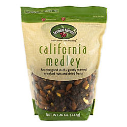 Second Nature Trail Mix California Medley