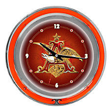 Budweiser A Eagle Neon Clock 14