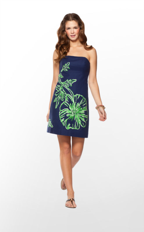 Bowen Dress Embroidered