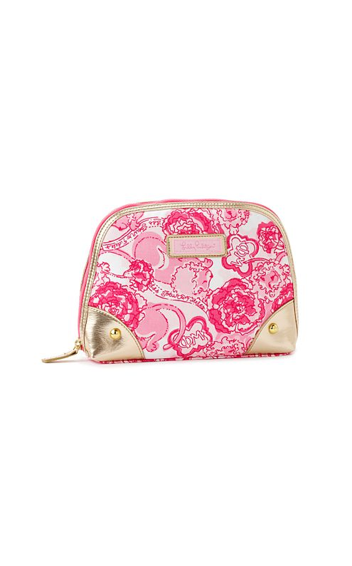 Zippity-do Makeup Bag- Phi Mu