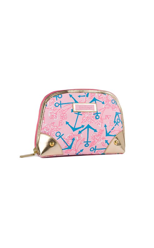 Zippity-do Makeup Bag- Delta Gamma
