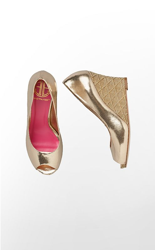 FINAL SALE - Resort Chic Wedge