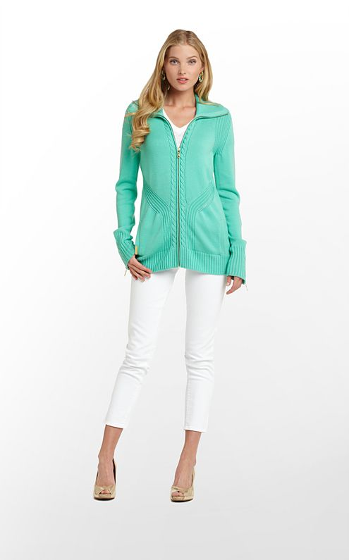 Maura Zip Up
